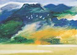 Liu Huan Xian paintings